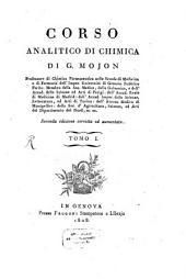 Corso analitico di chimica: Volume 1