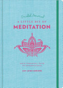 A Little Bit of Meditation Guided Journal