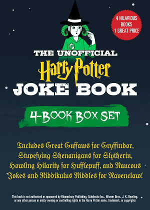 The Unofficial Harry Potter Joke Book 4 Book Box Set