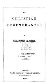 The Christian Remembrancer: Volume 39