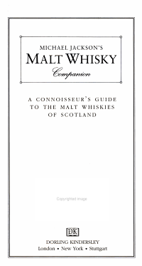 Michael Jackson s Malt Whisky Companion