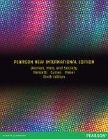 Women  Men  and Society  Pearson New International Edition PDF