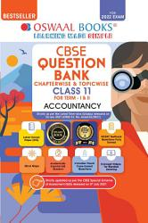 Oswaal CBSE Question Bank Class 11 For Term I   II Accountancy Book Chapterwise   Topicwise Includes Objective Types   MCQ s  For 2021 22 Exam  PDF