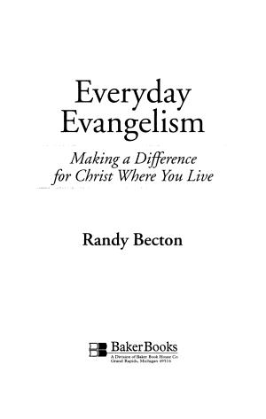 Everyday Evangelism