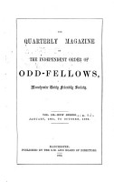 The Quarterly Magazine of the Independent Order of Odd Fellows PDF