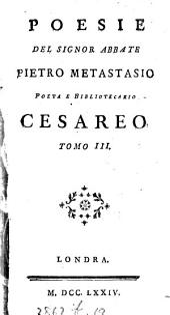 Poesie [ed. by G. Conti].