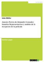 Amores Perros de Alejandro Gonzalez Innaritu: Representacion y analisis de la recepcion de la pelicula
