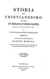Storia del cristianesimo continuata dall'anno 1721 sino al 1800 da un ecclesiastico veneziano dell'abate di Berault-Bercastel: Volume 34
