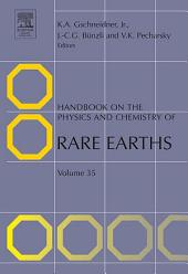 Handbook on the Physics and Chemistry of Rare Earths: Volume 35