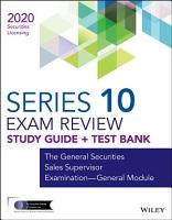 Wiley Series 10 Securities Licensing Exam Review 2020   Test Bank PDF