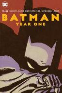Batman: Year One New Edition