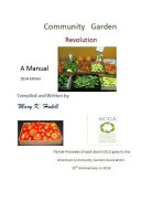 Community Garden Revolution Book