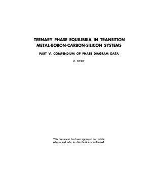 Compendium Of Phase Diagram Data