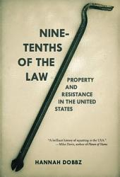 Nine Tenths Of The Law Book PDF