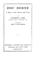 Doc' Horne: A Story of the Streets and Town, Volume 4