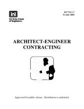 US Army Corps of Engineers Architect-Engineer Contracting