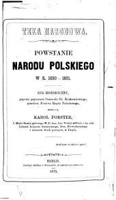 Powstanie narodu polskiego w r. 1830-1831