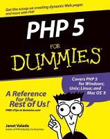 PHP 5 For Dummies PDF