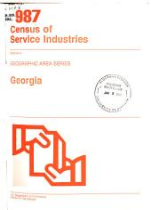 1987 Census of Service Industries: Geographic area series. Georgia