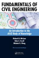 Fundamentals of Civil Engineering PDF