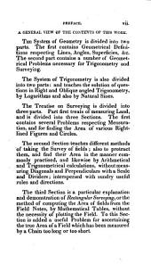 A System of Geometry and Trigonometry: Together with a Treatise on Surveying : Teaching Various Ways of Taking the Survey of a Field : Also to Protract the Same and Find the Area : Likewise, Rectangular Surveying, Or, an Accurate Method of Calculating the Area of Any Field Arithmetically Without the Necessity of Plotting it : to the Whole are Added Several Mathematical Tables Necessary for Solving Questions in Trigonometry and Surveying with a Particular Explanation of Those Tables and the Manner of Using Them :compiled from Various Authors