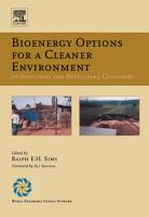 Bioenergy Options for a Cleaner Environment  in Developed and Developing Countries PDF