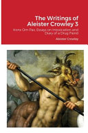 The Writings of Aleister Crowley 3 PDF