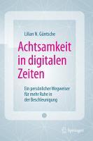 Achtsamkeit in digitalen Zeiten PDF