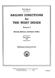Sailing Directions for the West Indies PDF