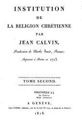 Institution de la réligion chrétienne: Volume2