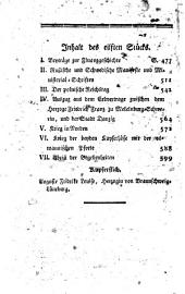 Historisches Portefeuille: zur Kenntnis der gegenwärtigen und vergangenen Zeit, Band 7,Ausgabe 11