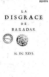 La Disgrace de Baradas