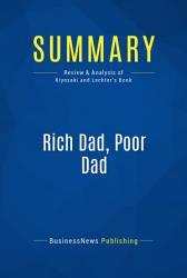 Summary Rich Dad Poor Dad Book PDF