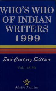 Who s who of Indian Writers  1999  A M PDF