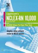 NCLEX RN 10 000 Powered by Prepu 24 Month Version Book