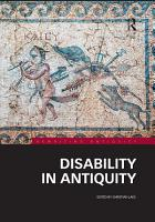 Disability in Antiquity PDF