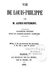 Vie de Louis-Philippe