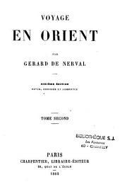 Voyage en Orient: Volume2