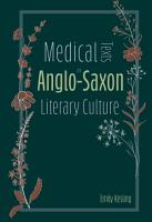 Medical Texts in Anglo Saxon Literary Culture PDF