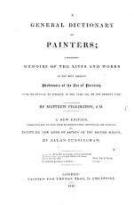 A General Dictionary of Painters     A new edition  etc  With a supplement PDF