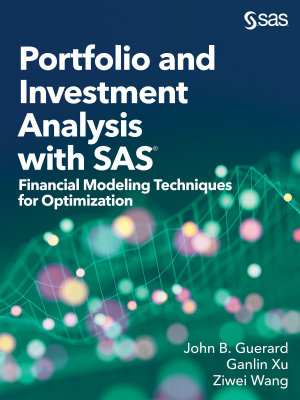 Portfolio and Investment Analysis with SAS PDF