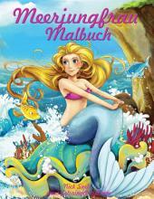 Meerjungfrau Malbuch 1