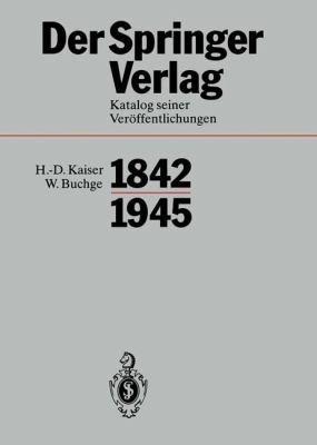 Der Springer Verlag PDF