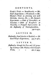The Farmer's Tour Through the East of England: Being the Register of a Journey Through Various Counties of this Kingdom, to Enquire Into the State of Agriculture, &c. ... By the Author of the Farmer's Letters, ...