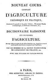 Nouveau cours complet d'agriculture théorique et pratique ... ou Dictionnaire raisonné et universel d'agriculture: Volume2