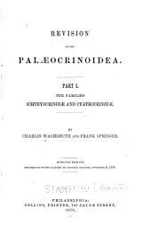 Revision of the Palaeocrinoidea...: Ichthyocrinidae and Cyathocrinidae