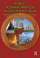 Public Administration in Southeast Asia PDF