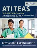 ATI TEAS Test Study Guide 2019 2020 Book