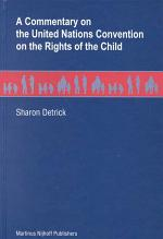 A Commentary on the United Nations Convention on the Rights of the Child