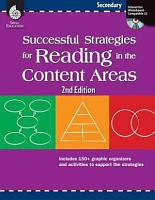 Successful Strategies for Reading in the Content Areas  Secondary PDF